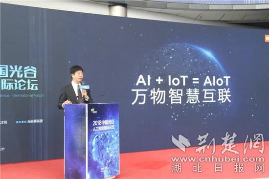 2018中国光谷人工智能国际论坛举行